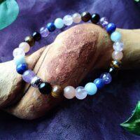 Bracelet  Chakras Perles 6mm