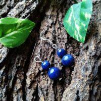 Boucles d'oreilles en Lapis-Lazuli