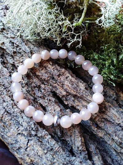 Bracelet  Enfants Pierre de soleil perles de 6 mm