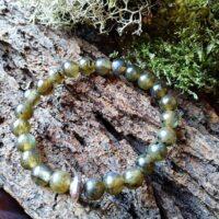 Bracelet  Enfants en Labradorite perles de 6 mm