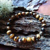 Bracelet Oeil de Tigre Perles de 6mm Protection et lucidité