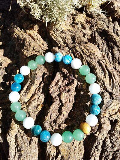 Bracelet Anti-Stress perles de 8 mm