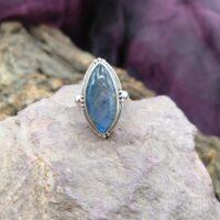 Bague en Argent 925 – Labradorite – Taille 51