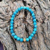 Bracelet Apatite Perles de 6mm