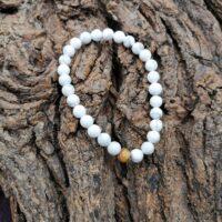 Bracelet  Howlite Perles de  6mm