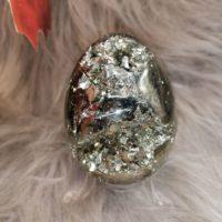 Oeuf en Pyrite  – 7 cm