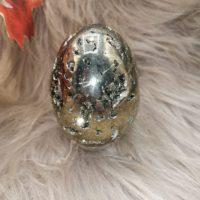 Oeuf en Pyrite – 8 cm