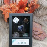Coffret de pierres roulées – Zen & Bien-être