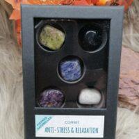 Coffret de pierres roulées – Anti-stress & Relaxation
