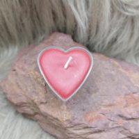 Bougie chauffe plat – Coeur