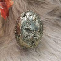 Oeuf en Pyrite  – 9 cm