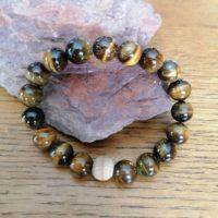 Bracelet Oeil du Tigre – 10mm