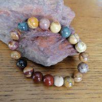 Bracelet en Mookaite – 10 mm