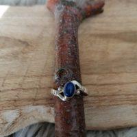 Bague en Lapis-lazuli – Argent 925 – Taille 56