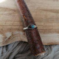 Bague en Labradorite – Argent 925 – Taille 56