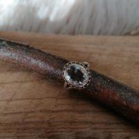 Bague en Cristal de Roche – Argent 925 – Taille57