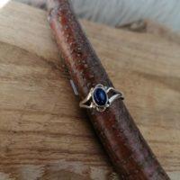 Bague en Lapis-Lazuli – Argent 925 – Taille 57