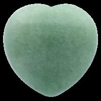 Coeur en Aventurine Verte