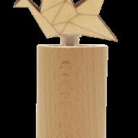 Diffuseur par Capillarité en Bois Oiseau Origami