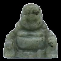 Bouddha Porte-Bonheur en Labradorite