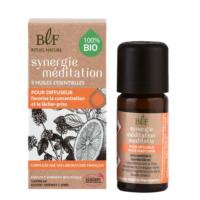 Synergie de 5 Huiles essentielles Bio Méditation
