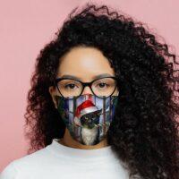 Masque de Protection Réutilisable Lisa Parker – Chat de Noël