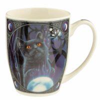 Mug en Porcelaine Tendre Lisa Parker – Chat Apprenti Sorcier