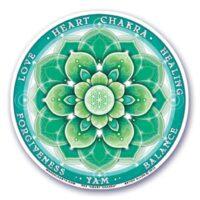 Stickers Chakras 4 Coeur – 12 cm