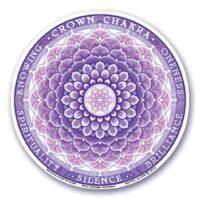 Stickers Chakras 7 Couronne – 12 cm