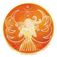 Stickers Ange de la Créativité – 12 cm