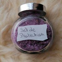 Sel violet de protection