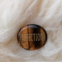 Galet Protection en Oeil du tigre