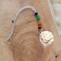 Boule cristal feng shui 7 chakras