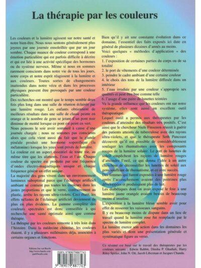 Planche Thérapie par les couleurs – A4