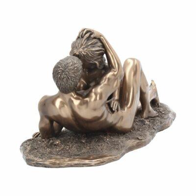 Couple en Bronze – 28 cm