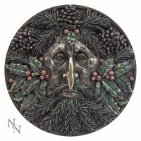 Plaque Murale en Bronze – Yule – 15 cm