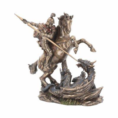 Statue Georges et le dragon