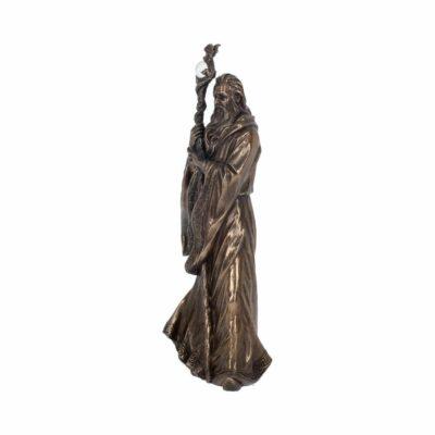 Statue Merlin Bronze 47cm