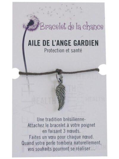 Bracelet de la chance – Aile de l'ange gardien