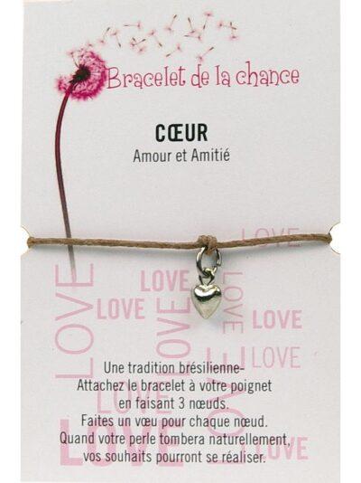 Bracelet de la chance – Coeur